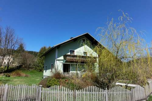 Südseitig orientiertes Einfamilienhaus mit großem Garten