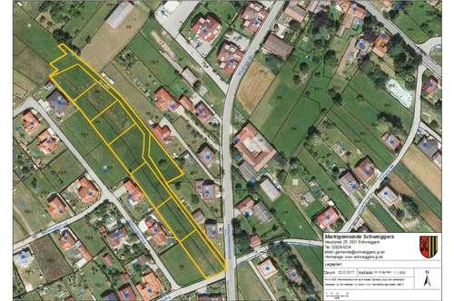Tolle Bauplätze in der Gartenstraße