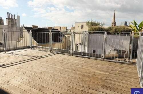 Wunderschöne 102m² DG-Maisonette + 34m² Terrasse in Zentrumsnähe - 1030 Wien