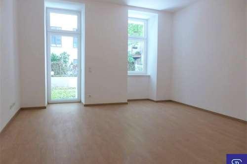 Erstbezug: 55m² Altbau + 12m² Terrasse in gartenseitiger Ruhelage - 1070 Wien