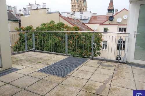 Dachausbau 134m² + 29m² Terrassen mit Einbauküche in Toplage - 1090 Wien
