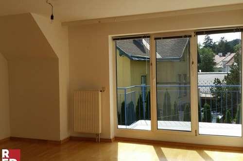 Wohnung auf 2 Ebenen mit Balkon