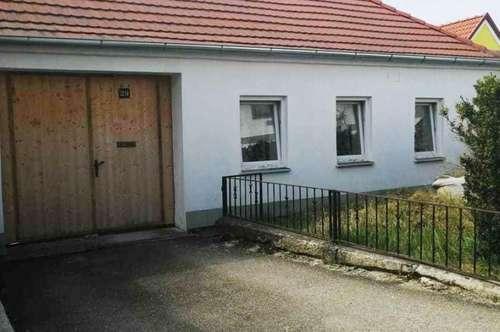 Einfamilienhaus mit Garten und Option