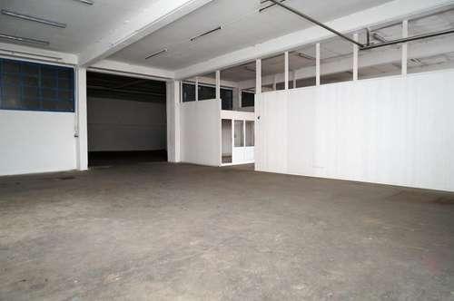 ca. 490 m2 Halle mit Waschplatz und Büro in Zentrumsnähe