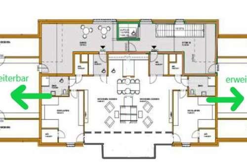 * Einzigartiges Penthouse Atelier am Fuße des Unterberges nahe der Kulturstadt Salzburg *