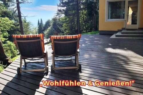 Sonnige FREIZEIT & GARTEN-VILLA! ... ein Traum! Südlage & Panorama-Fernblick, Balkon, Terrassen, ERSTBEZUG, Provisionsfrei ...