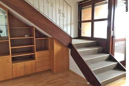 Heimelige, zentrale Maisonettenwohnung mit Balkon in Ruhelage ...!