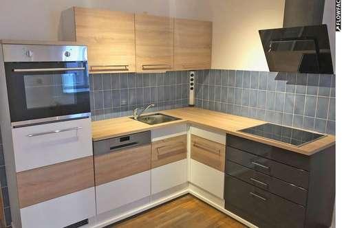 Zentrale Mietwohnung mit Balkon und neuer Küche ...!