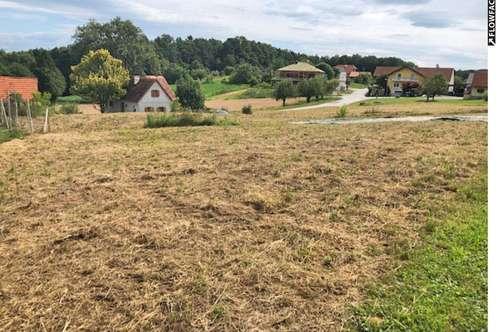 Sonniges Grundstück in Aussichtslage nähe Gleisdorf ...!