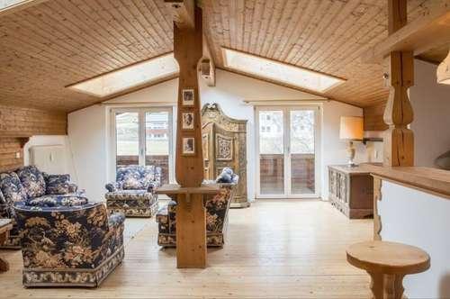 Helle und gemütliche Dachwohnung in zentraler aber ruhiger Lage Reith bei Kitzbühel