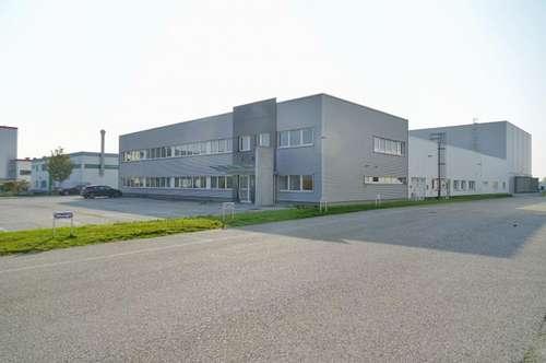 Industriehalle mitten im Industriezentrum NÖ-Süd mit 265 m² Bürofläche auf einer Etage und 15 Abstellplätzte zu vermieten !!!