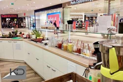 Exklusive Gastro - Cafe - Juice Bar im Shopping Center