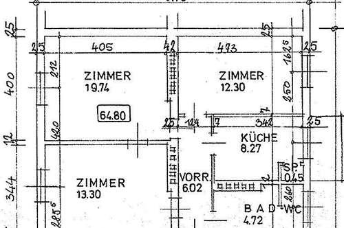 3-Zimmer-Wohnung, zentrale Lage, TU-Nähe, WG-tauglich