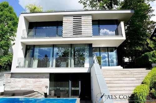 Moderne Luxusvilla in ruhiger Toplage am Schafberg