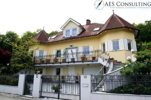Charmante Villa direkt an der Wiener Stadtgrenze