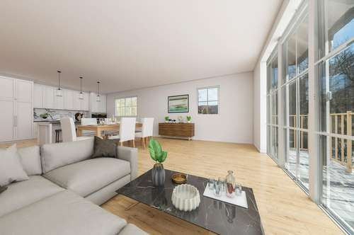 Familienglück: 4-Zimmerwohnung in Großgmain