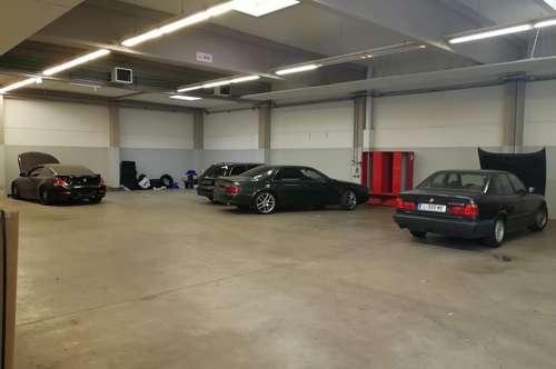 LINZ - moderne, beheizte Halle mit vielen Möglichkeiten - nur € 6/m² !