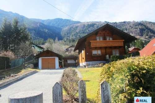 Gemütliches Holzhaus in sonniger Lage im Drautal