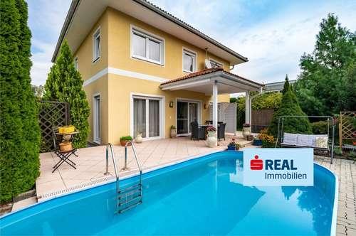 Wunderschön gepflegtes Einfamilienhaus in Ebenthal mit Pool