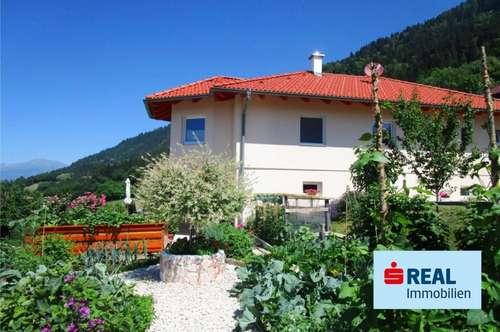 Wunderschöne Villa mit mediterranen Garten und See- und Bergblick