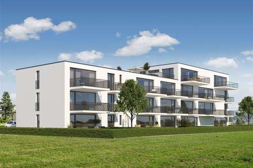 Exklusive 2-Zimmer Gartenwohnung mit 56 m² Süd-Gartenfläche