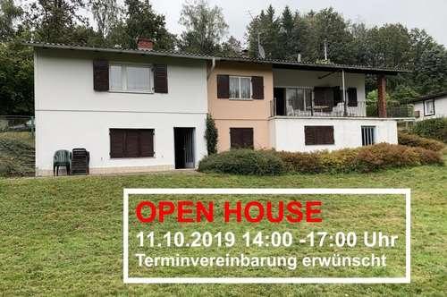 OPEN HOUSE 11.10.2019 14:00 - 17:00 Uhr!   Wochenendhaus in Grünlage für Ruhesuchende