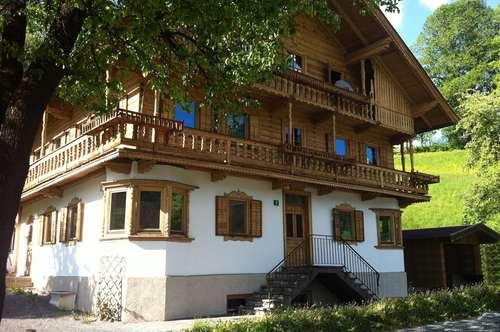 Einzigartiges Anlageobjekt: Großes Einfamilienhaus (vermietet) in Söll