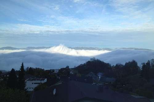 einzigartiges Wohnen über der Nebelgrenze