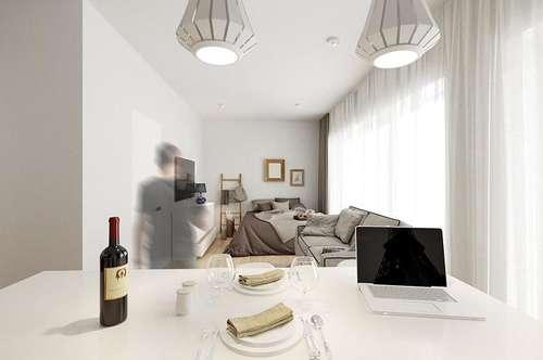 Provisionsfreie 1-Zimmer Wohnung & großen Terrasse