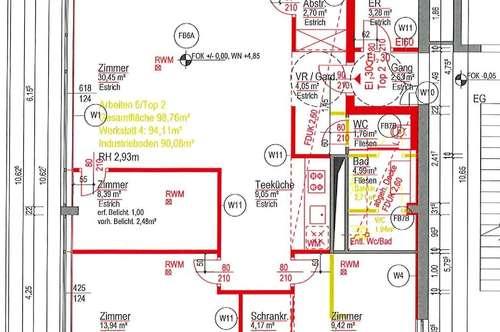 Loft? oder 2/3/4 Zimmer? Nur 600m zur Alten Donau! 98,8m2 zum selbst Gestalten - provisionsfrei!