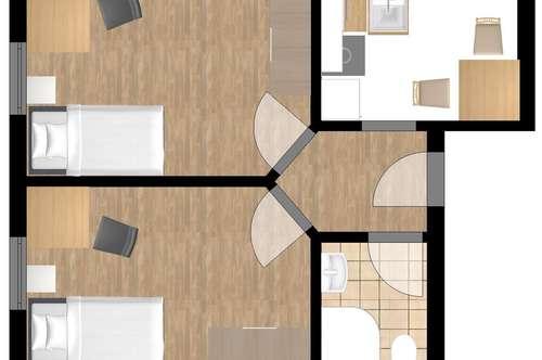 Zweizimmer Appartement in St.Magdalen !
