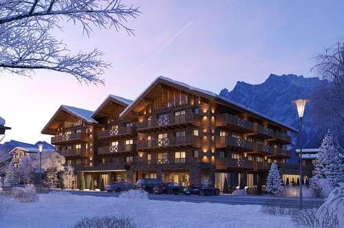 touristisch genutztes Apartment am Fuße der Zugspitze