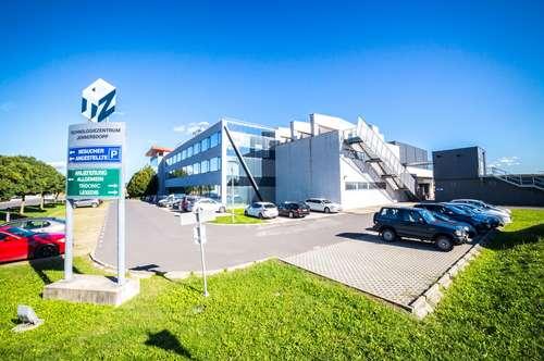 Reinraum - und ESD- Produktionsflächen inklusive Bürotrakt im Technologiezentrum Jennersdorf