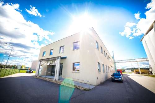 Technikum Güssing - Büroräume im modernen F&E- Zentrum
