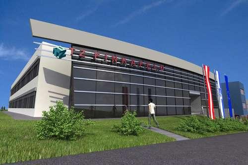 Technologiezentrum Pinkafeld - Büroflächen von 25 m² bis 1.000 m²