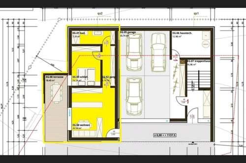 Neue 2 Zimmerwohnung in Einfamilienhaus zu vermieten (nur Dauervermietung)