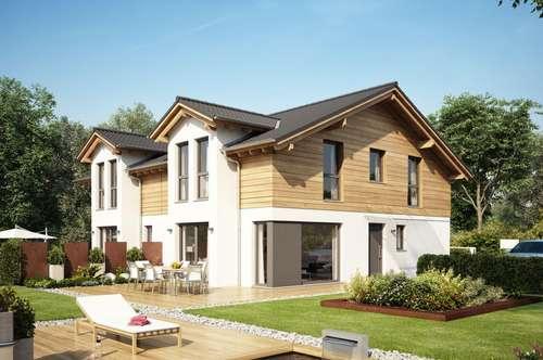 Moderne Doppelhaushälfte in Goingam Wilden Kaiser im Tiroler Stil