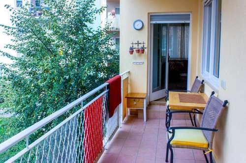 Wohnen auf Zeit - sofort beziehbar - 2 Schlafzimmer mit Balkon