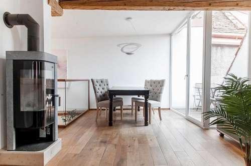 Wohnen auf Zeit - Penthouse Suite mit Uhrturmblick - Stil trifft Moderne