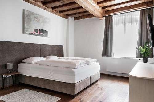 Temporäres Wohnen – Suite in der Sporgasse – wöchentliche Vermietung