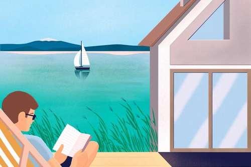 Rarität am See zu kaufen!: exklusive Ferienhäuser und Ferienapartments im Seepark-Weiden am Neusiedler See mit Seezugang, Liegewiese, Schwimmbecken und Sonnendeck!