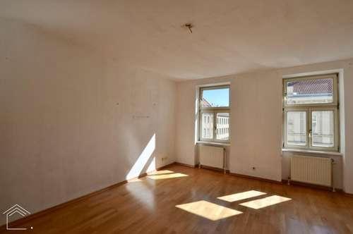 Sonnige und ruhige Maisonette-Wohnung in zentraler Lage