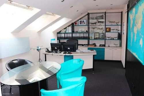 Büroräumlichkeiten am Ziehrerplatz - im DG mit Terrasse, PROVISIONSFREI