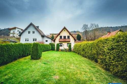2 Häuser + großer Garten zum Top Preis!!
