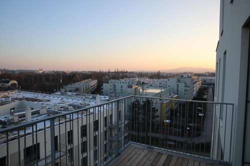 Hochwertige 2-Zimmer Wohnung mit Fernblick, Erstbezug, Balkon, inkl. Garagenplatz, Kellerabteil, Nähe Erholungsgebiet Liesingbach