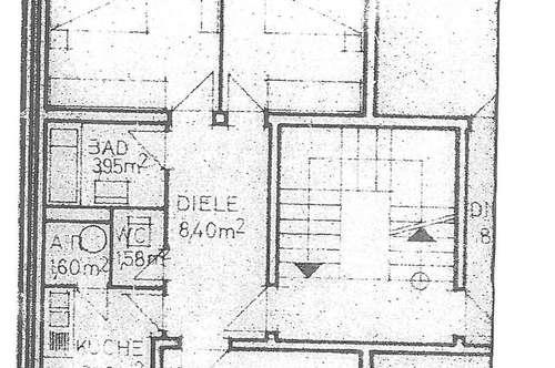 Oberstes Stockwerk 3 Zimmer Küche Bad WC Vorraum Innsbruck Ost-Arzl
