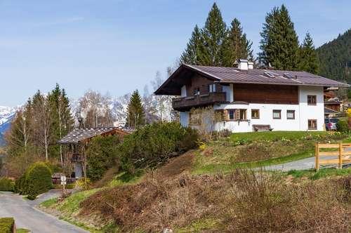 3-Zimmer-Wohnung mit traumhaften Panoramablick auf Kitzbühel und den Hahnenkamm in zentraler Lage