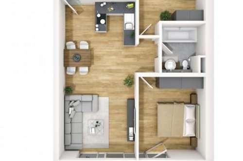 Besonderheit: 3-Zimmer-Wohnung in Kranebitten