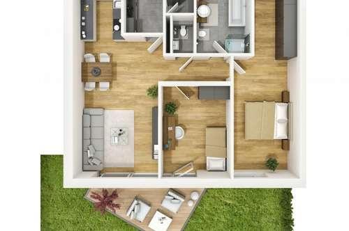 Traumhafte 3-Zimmer-Gartenwohnung in Kranebitten