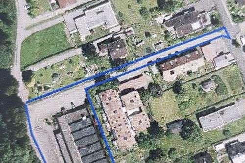Grundstück mit Immobilienobjekt in zentrumsnaher Lage in Feldkirch